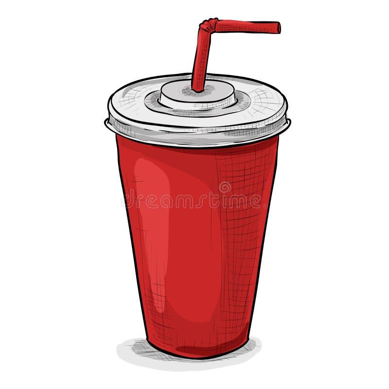 Photo de couleur de tasse de kola illustration stock