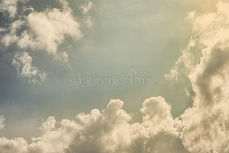 Photo de cru du ciel images stock