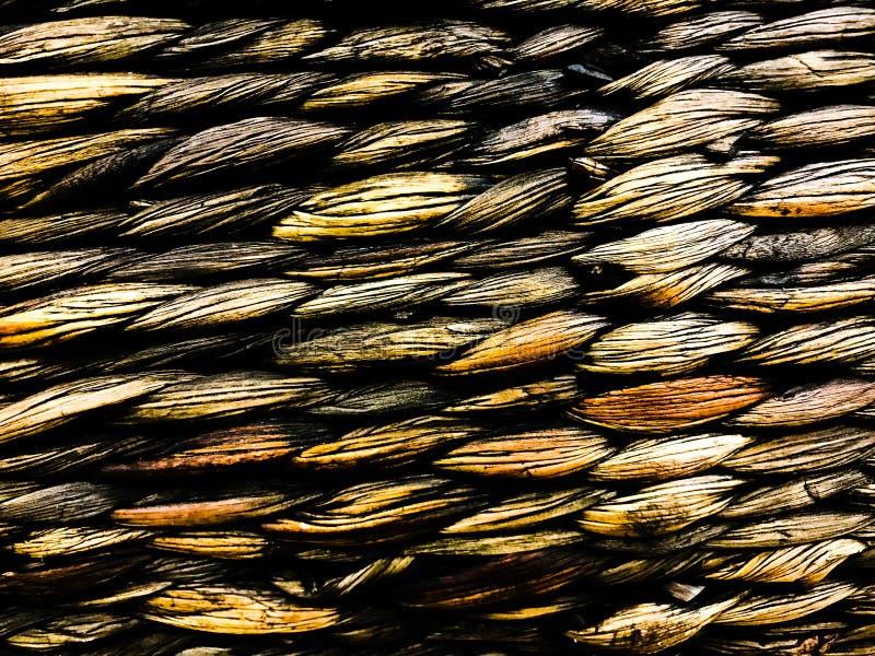 Photo de photo de décor de vintage de texture de panier d'armure de vintage images stock