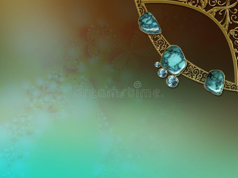 photo de disposition de fractale de conception de fond illustration stock