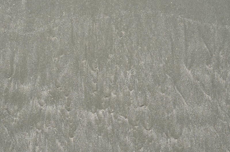 Photo de fond et de texture du sable humide de couleur grise photo libre de droits