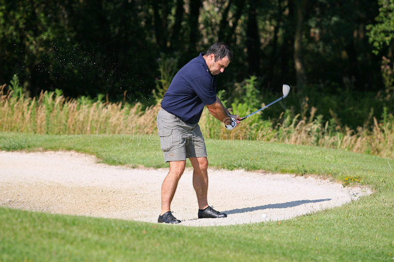Photo de golf image libre de droits