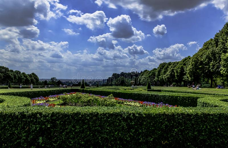 Photo de jardin de Cliveden dans Taplow, Backinghamshire, R-U photos libres de droits