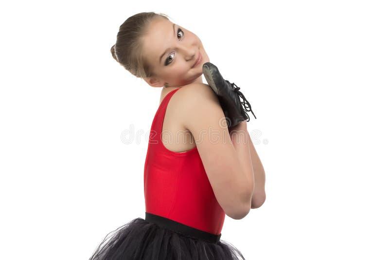 Photo de jeune ballerine mignonne images libres de droits