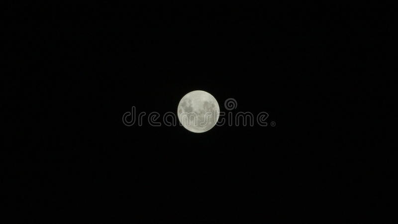 Photo de la lune photos libres de droits