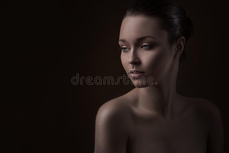 Photo de mode de beauté de femme photographie stock libre de droits