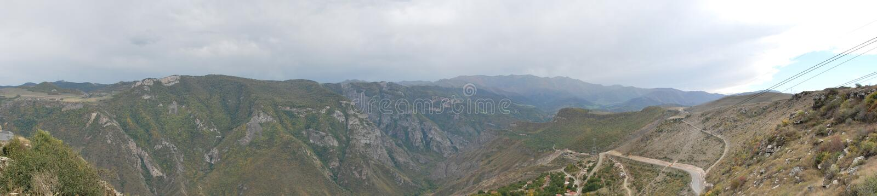Photo de panorama de Tatev, Arménie photographie stock