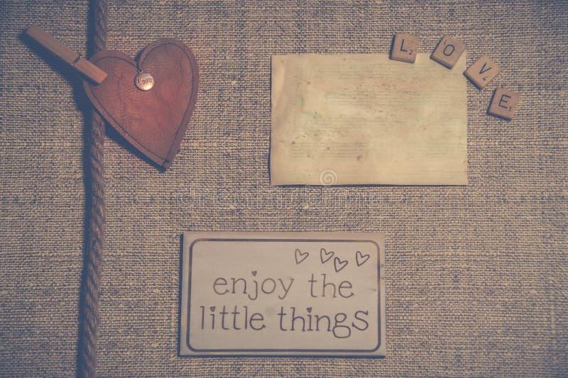 Photo de papeterie de vintage image stock