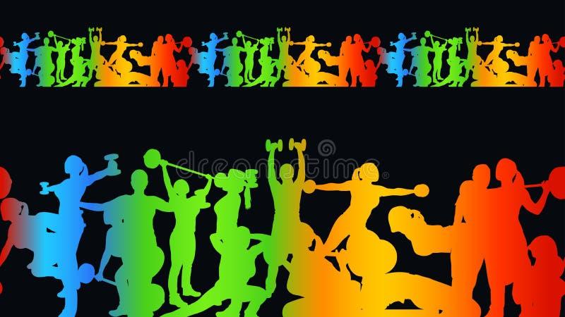 Photo de sport illustration libre de droits