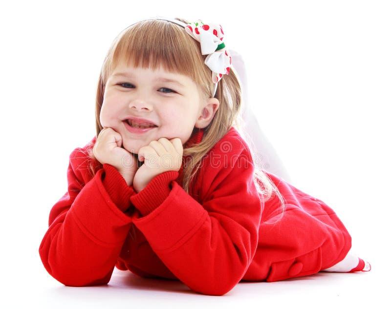 Photo de studio des enfants centraux images stock