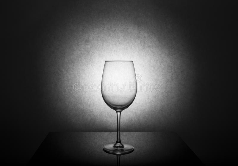 Photo de studio en verre de vin photo libre de droits