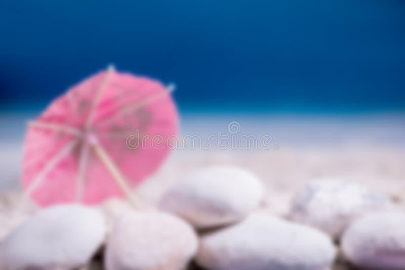 Photo de tache floue de plage photos stock