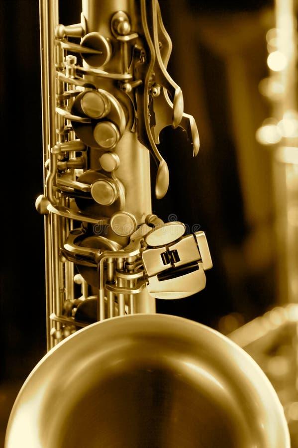 Photo de technologie de saxophone photographie stock libre de droits