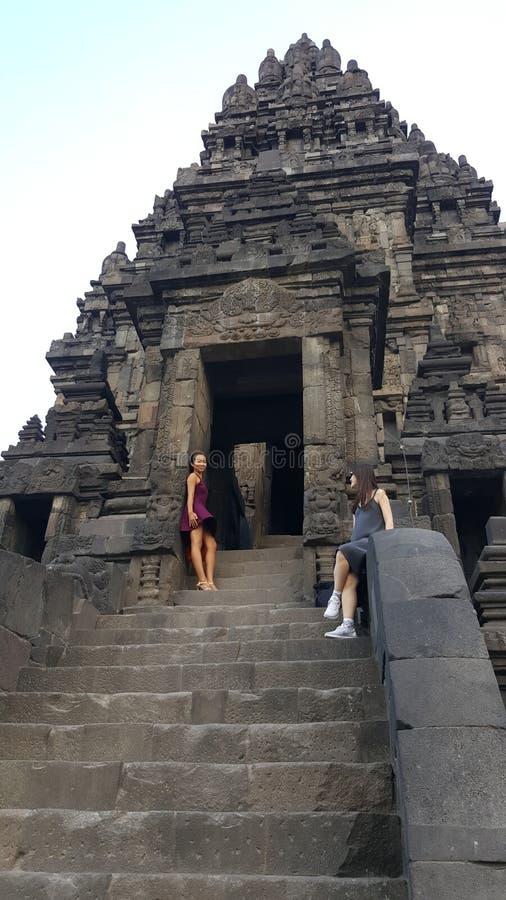 Photo de temple de Prambanan photographie stock