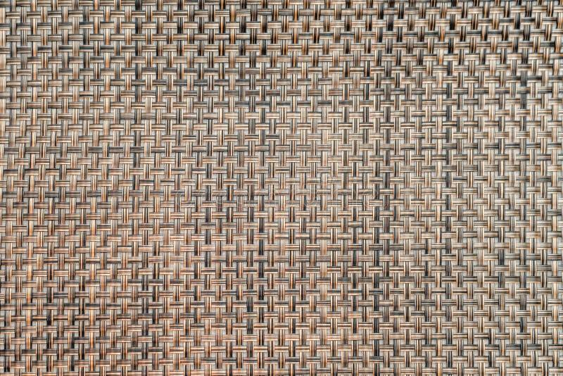Photo de texture décorative de tissu rugueux brun wattled photos libres de droits