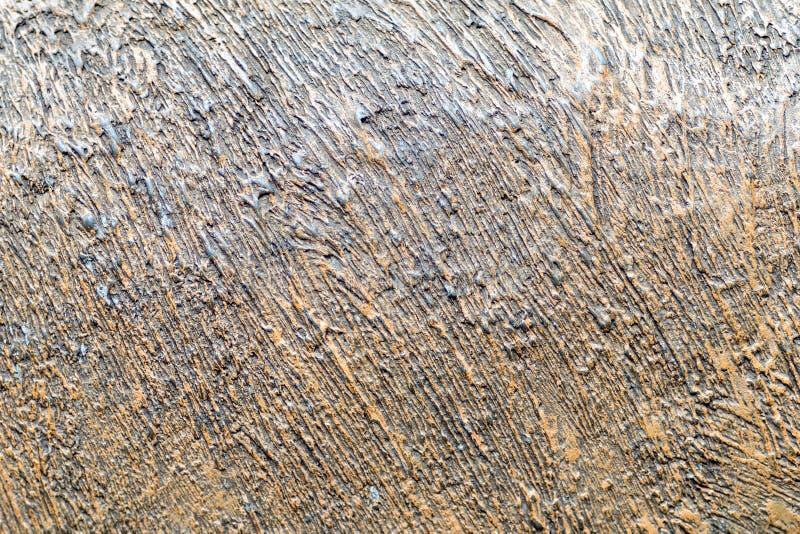 Photo de texture mettalic peinte dans de cuivre et noir image libre de droits