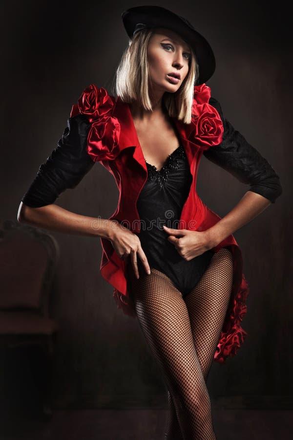 Photo de type d'une jeune blonde photographie stock libre de droits