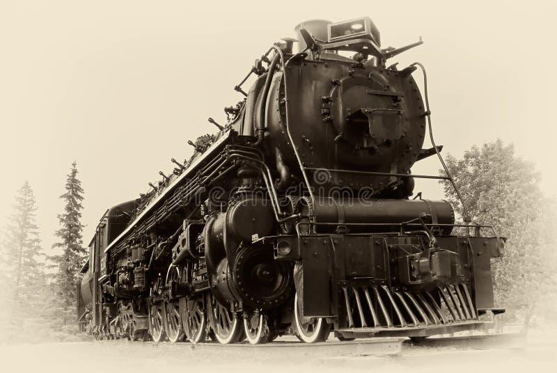 Photo de type de cru de train de vapeur photographie stock