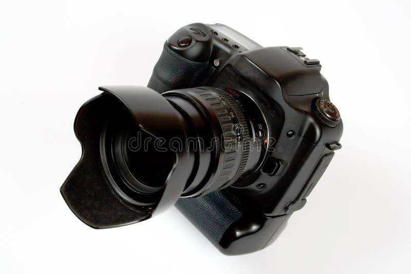 photo digitale de lentille d'appareil-photo noir photo stock