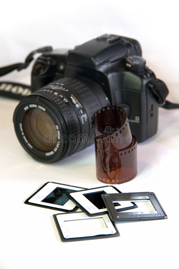 Photo equipment royalty free stock images