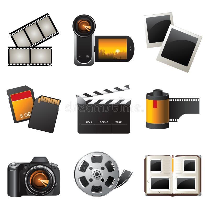 Photo et vidéo illustration libre de droits