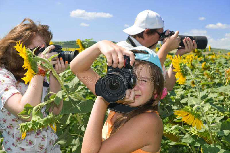 Photo - Family Hobby. Stock Image