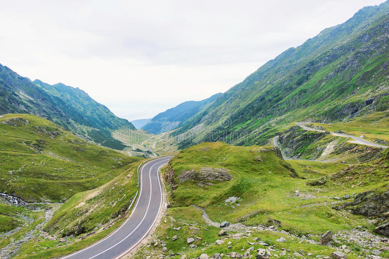Photo of famous winding road stock images