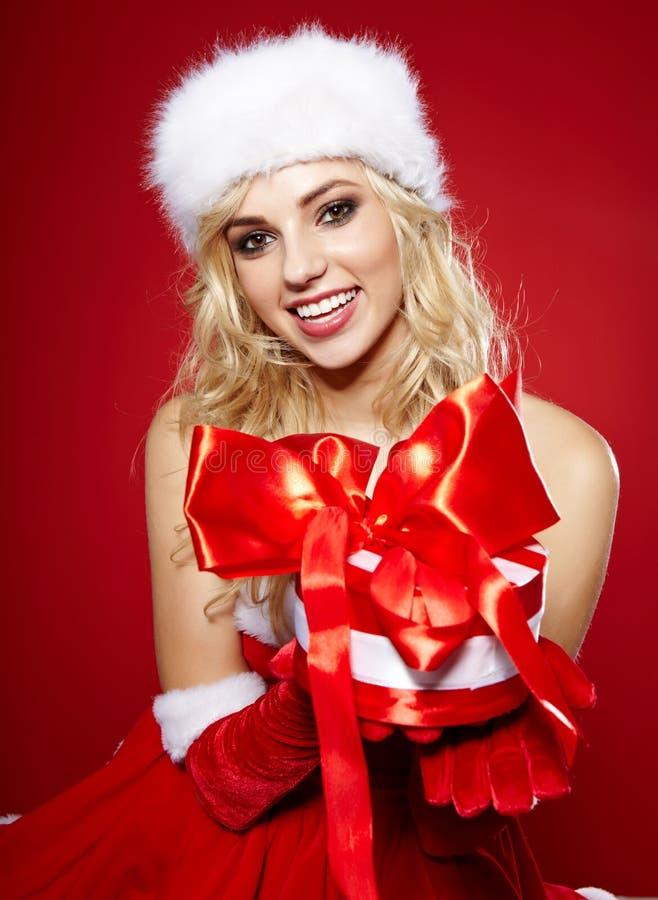 Download Photo Of Fashion Christmas Girl Stock Photo - Image: 27819098