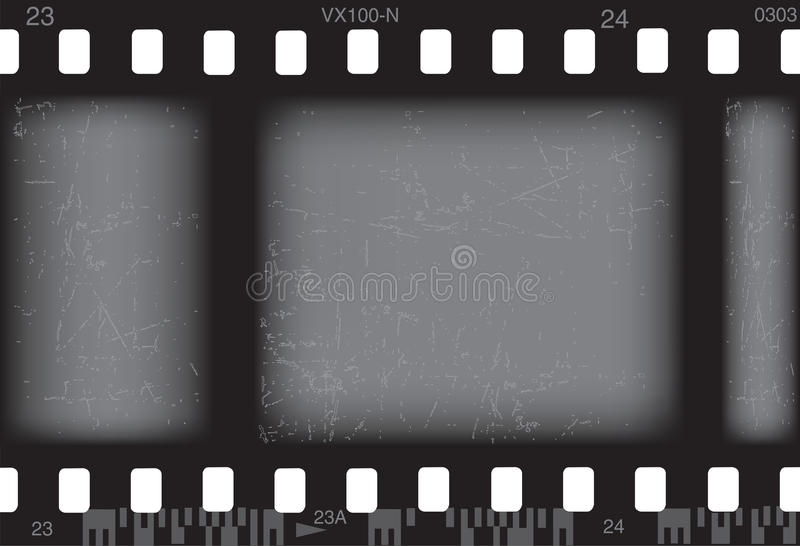 Photo film stock illustration