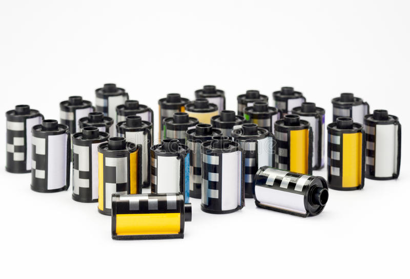 Download Photo film cartridges stock photo. Image of process, black - 25873034