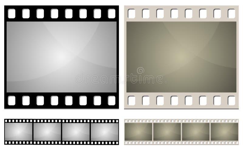 Photo film frame royalty free illustration