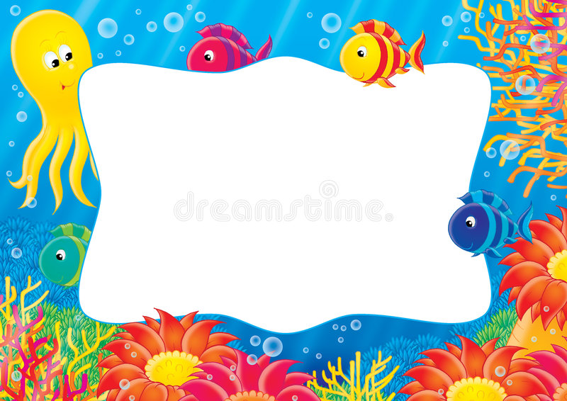 Photo frame 005 stock illustration