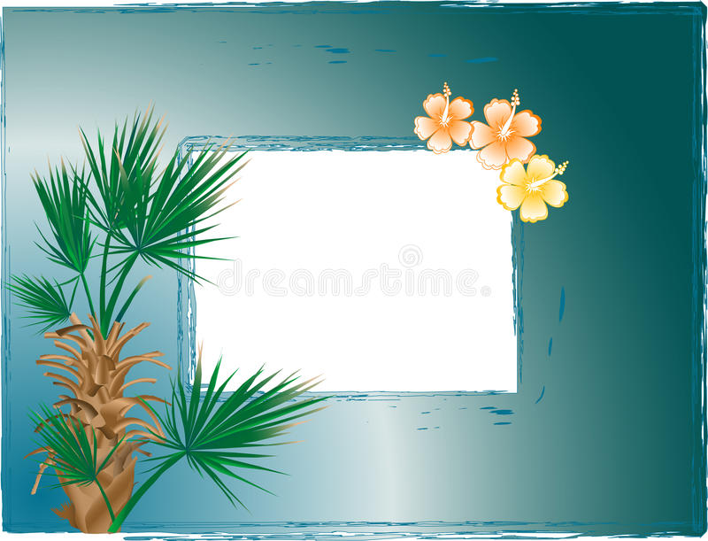 Download Photo frame stock vector. Image of abstraction, tree - 10629120