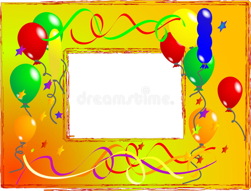Download Photo frame stock vector. Illustration of concept, curly - 10639637