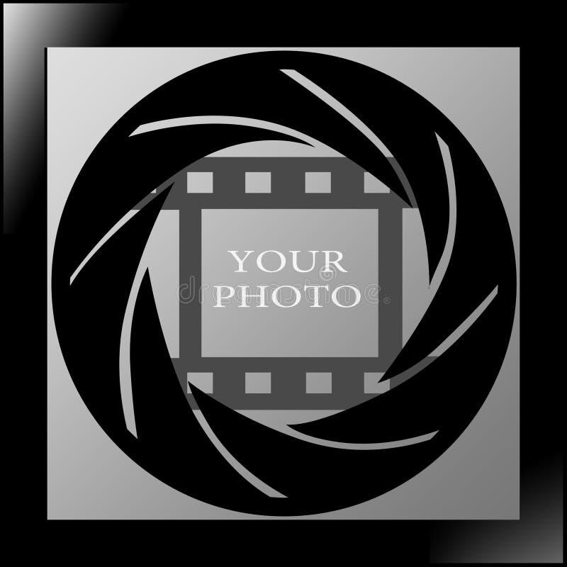 Download Photo frame stock illustration. Image of photo, black - 12645046