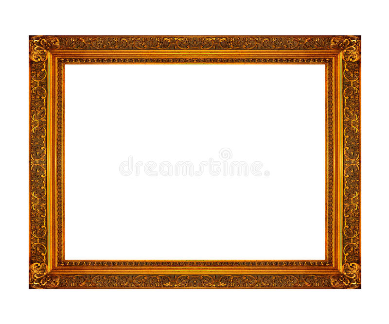 Photo frame. Frame ready to be used in a photo design royalty free stock photo