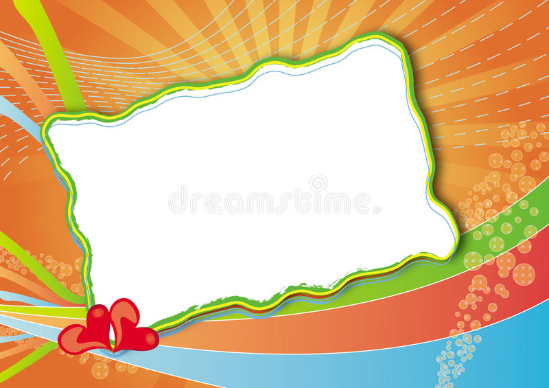 Photo Frame stock photo