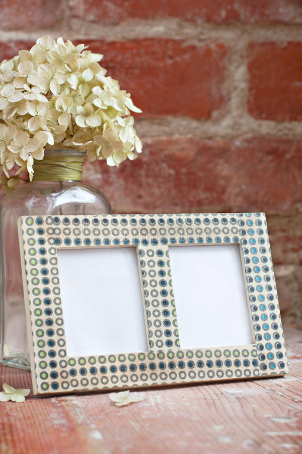 Download Photo frame stock photo. Image of dots, interior, flower - 29103976