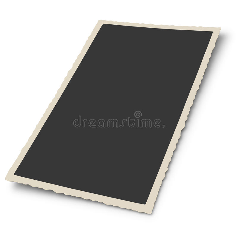 Download Antique photo frame stock illustration. Image of space - 30243986