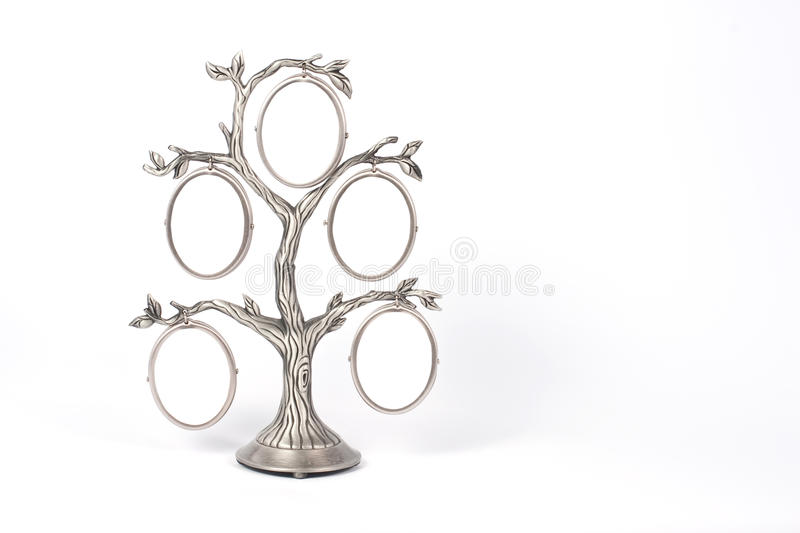 Photo frame in form off tree royalty free stock photo