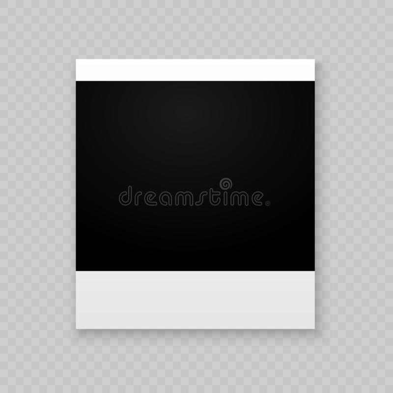Photo frame for internet sharing. stock illustration