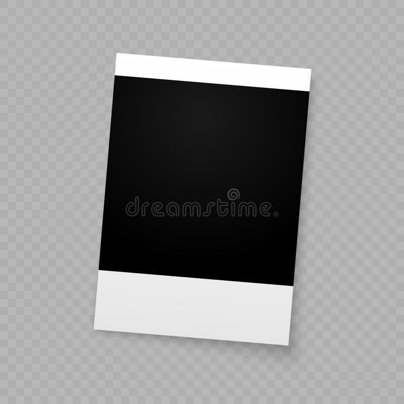 Photo frame for internet sharing. vector illustration