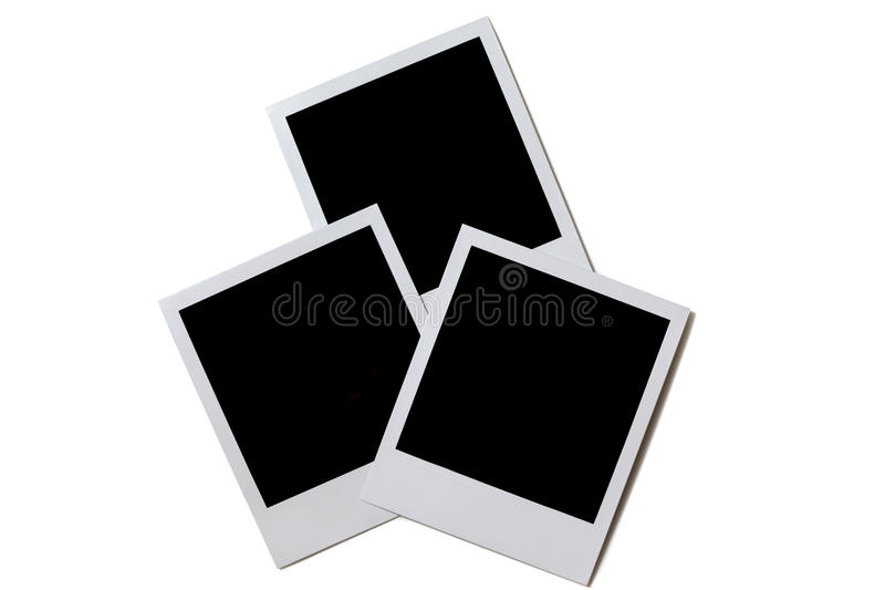 Photo frame isolated stock images
