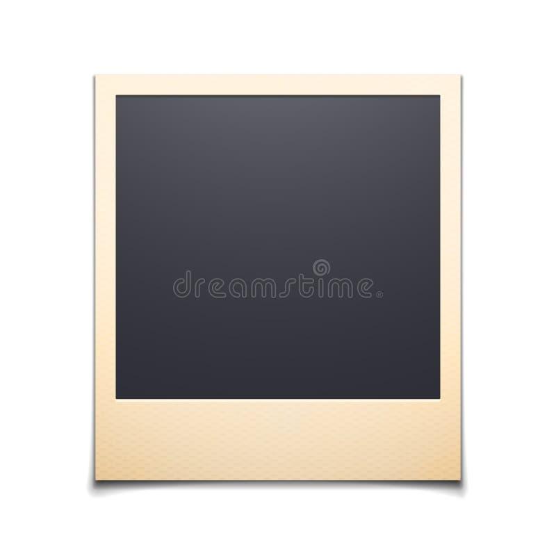 photo frame isolated on white background stock vector illustration rh dreamstime com polaroid vectograph polaroid vector logo