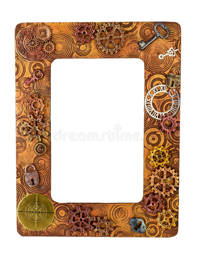 Free Photo Frame Made From Polymer Clay Handmade Crafted Royalty Free Stock Photos - 84721608