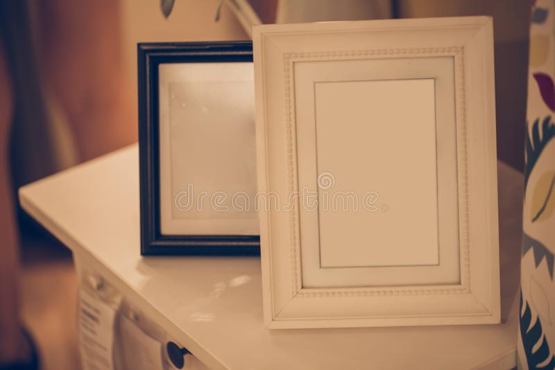Photo frame of memory vintage color tone stock photography
