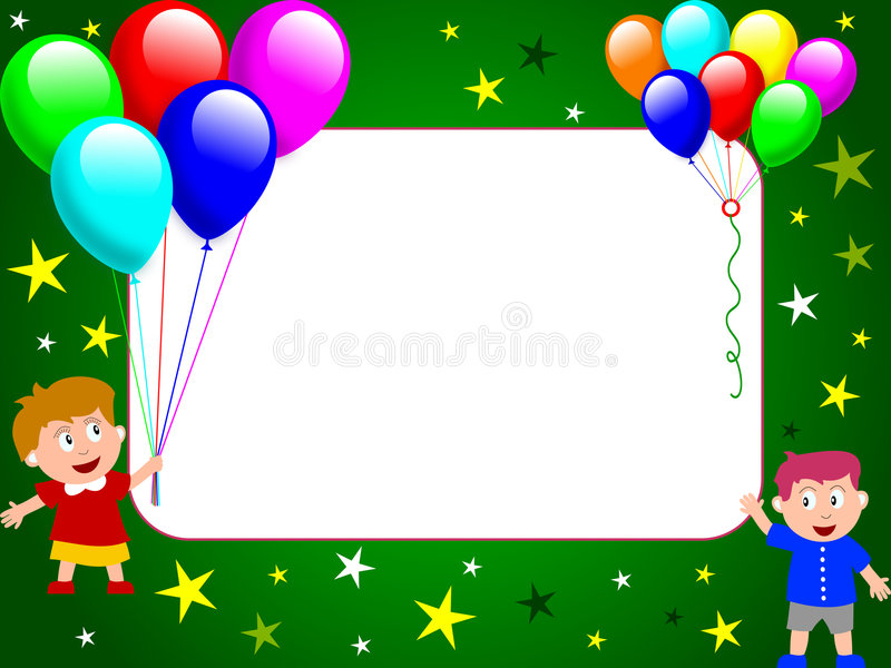 Download Photo Frame - Party Time [2] Stock Illustration - Image: 5535525