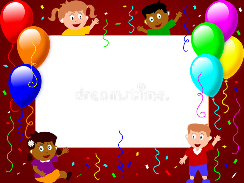 Photo Frame - Party Time [3] royalty free illustration