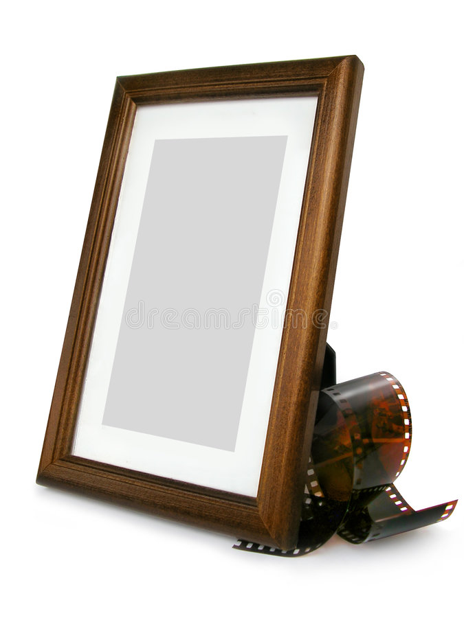 Download Photo Frame And Photo Tape stock image. Image of memory - 177447