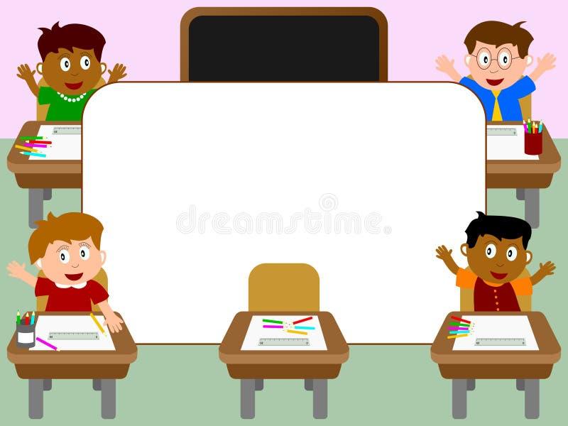 Photo Frame - School [1] royalty free illustration
